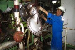Overhoul Inert Gas System Turbine