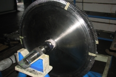 Assembly Rotor Turbine Manufacturing