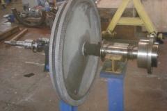 Manufacturing Rotor Turbine mill #3